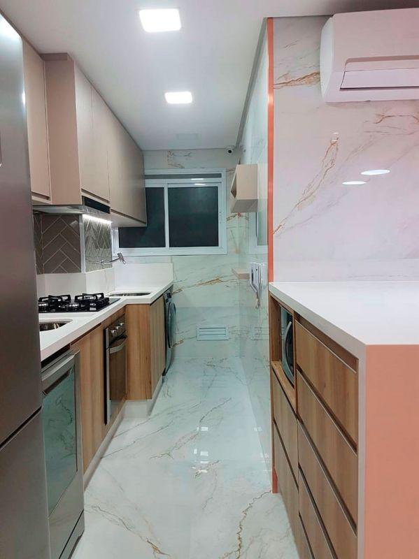 Móveis planejados para quarto e cozinha
