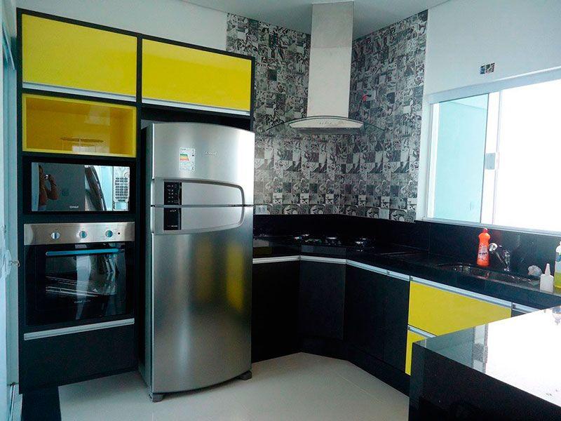 Projeto de móveis planejados para cozinha